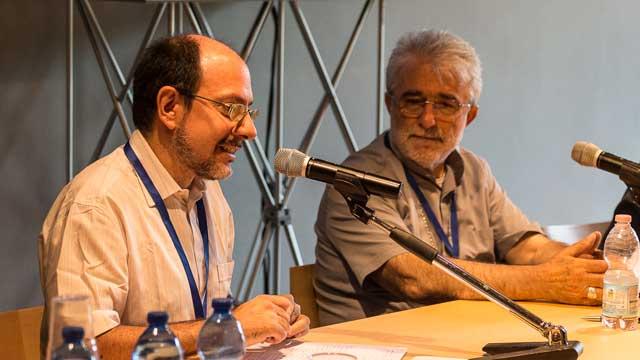 Ernesto Diaco Ernesto Diaco (membro del Comitato organizzatore del Festival) e S.E. Mons. Rodolfo Cetoloni (Vescovo di Grosseto)